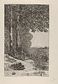 The Firewood Collector (La Ramasseuse de fagots - La Bûcheronne - Grand paysage Brabançon) MET DP834411.jpg