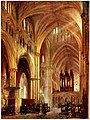 The Interior of Lincoln Cathedral, by Colin Campbell Cooper.jpg