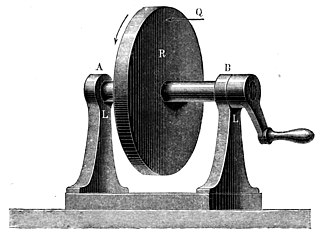 Kinematics - Each particle on the wheel travels in a planar circular trajectory (Kinematics of Machinery, 1876).