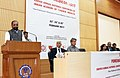"""The Minister of State for Home Affairs, Shri Hansraj Gangaram Ahir delivering the inaugural address at the 38th Annual Conference of Indian Academy of Forensic Medicine (IAFM) """"Forensic Medicon 2017"""", at IIT Mumbai.jpg"""
