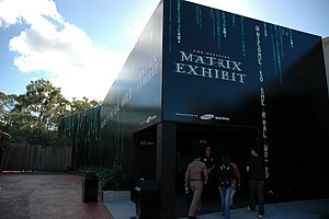 The Official Matrix Exhibit - The entrance to the attraction.