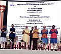 The Prime Minister, Shri Narendra Modi inaugurating the Indian Institute of Information Technology, Nagpur, at Indoor Sports Complex, Mankapur (1).jpg