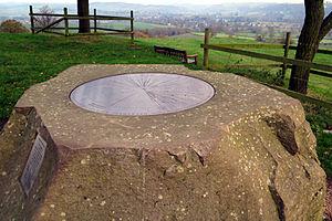 Quarndon - The Millennium Topograph