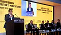 "The Secretary, Department of Industrial Policy and Promotion (DIPP), Shri Amitabh Kant addressing in Japan Country Session on ""Ingenious Contribution to Manufacturing"", at MAKE IN INDIA function, in Mumbai.jpg"
