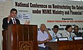 The Secretary, Ministry of Micro, Small & Medium Enterprises, Shri Uday Kumar Verma addressing at the National Conference on restructuring the existing supports agencies under the MSME Ministry and Financial Institutions.jpg