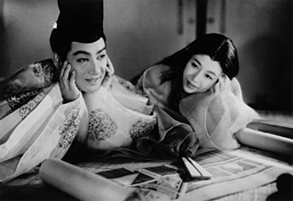 The Tale of Genji (1951 film) - Scene from the film.