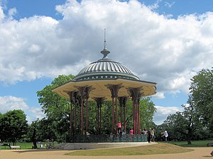 The Victorian Bandstand at the centre of Clapham Common - geograph.org.uk - 1325252.jpg