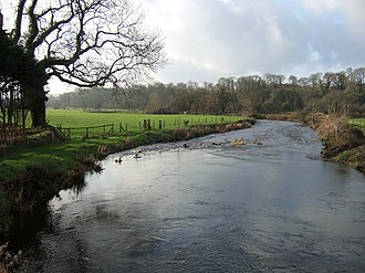 River Cleddau - The Western Cleddau at St Catherine's Bridge