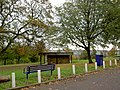 The blue bench - geograph.org.uk - 596145.jpg