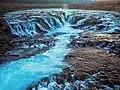 The blue waterfall - Bruarfoss - Iceland (41967794764).jpg
