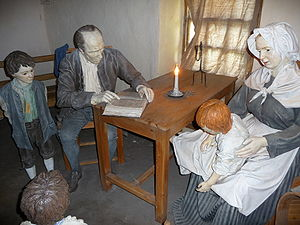 Robert Burns - Inside the Burns Cottage