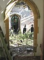 The church of St Wandregesilius - view through south doorway - geograph.org.uk - 1370799.jpg