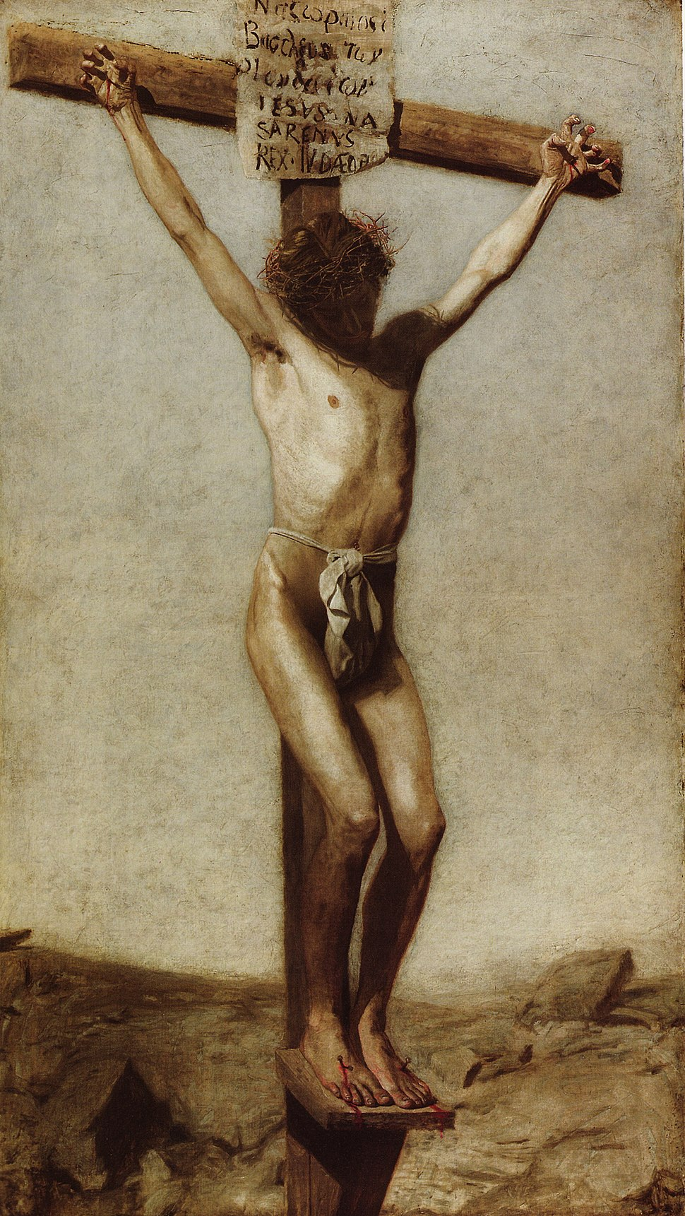 The crucifixion thomas eakins