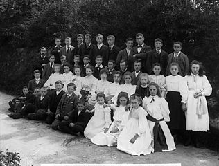 The intermediate school, St Davids (1899)