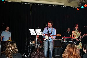 The band playing at the Paradiso, Amsterdam, 2006