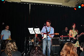 Scritti Politti - The band playing at the Paradiso, Amsterdam, 2006
