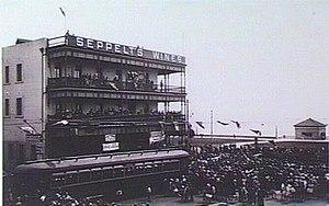 Trams in Adelaide - The opening of the Glenelg tram.