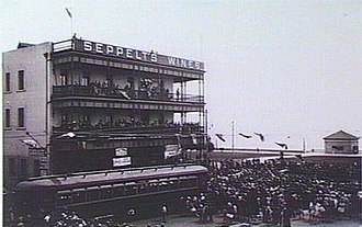 Trams in Adelaide - The opening of the Glenelg line.