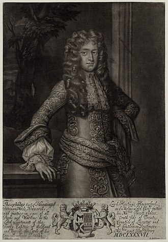 Theophilus Hastings, 7th Earl of Huntingdon - Theophilus Hastings, 7th Earl of Huntingdon
