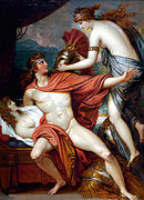 Thetis Bringing Armor to Achilles II by Benjamin West.jpg