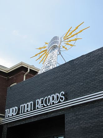 Third Man Records - The front of the Third Man Records storefront, novelties lounge, label offices and venue space