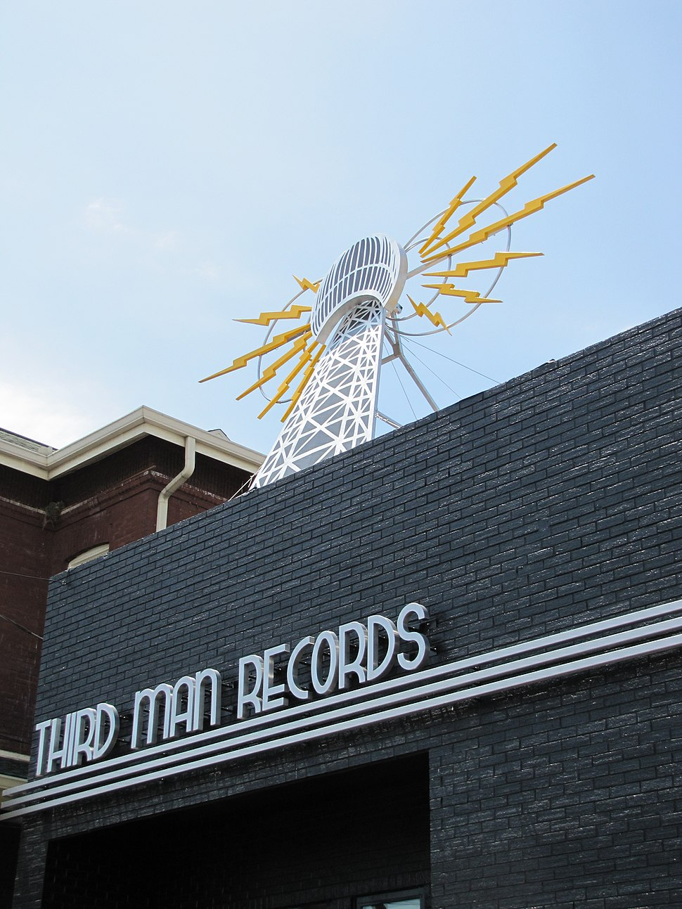 Third Man Records facade
