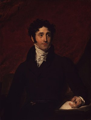 Thomas Campbell (poet) - Portrait by Sir Thomas Lawrence c.1810