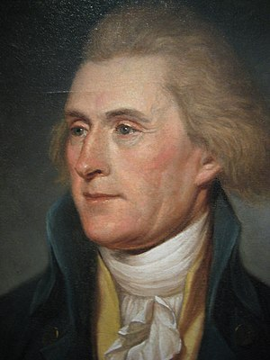 A Portrait of Thomas Jefferson as Secretary of...