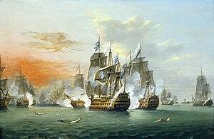 Thomas Luny - The Battle of The Saints.jpg