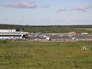 Thompson Airport - Image: Thompson Airport