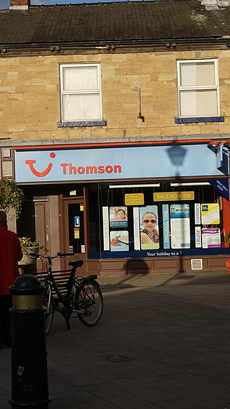 TUI Group - Image: Thomson, Market Place, Wetherby (1st February 2012)