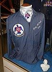 Thunderbirds jacket, Merrill McPeak exhibit - Oregon Air and Space Museum - Eugene, Oregon - DSC09898.jpg