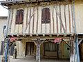 Tillac - Maisons à colombages de la rue principale - côté nord -1.JPG