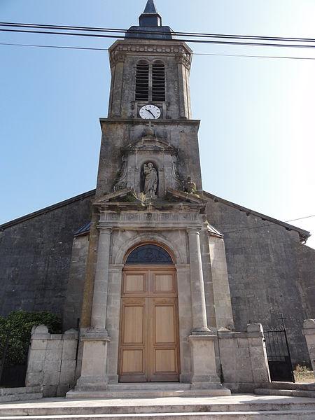 Tilly-sur-Meuse (Meuse) église