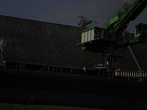 Tim S. Dool moored at the Redpath Sugar Refinery -c.jpg