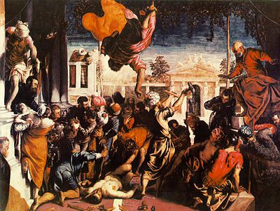 Miracle of the Slave (1548).