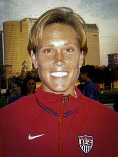 Tisha Venturini American soccer player