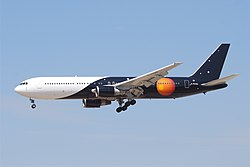 Boeing 767-300ER der Titan Airways