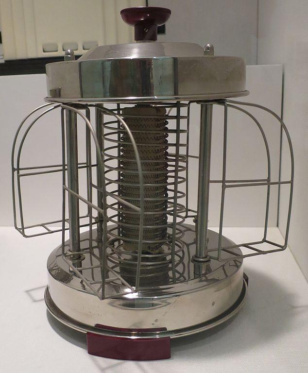 file toaster model 584 n made by saluta of germany c. Black Bedroom Furniture Sets. Home Design Ideas