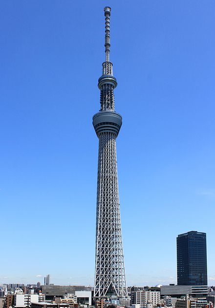 The Tokyo Skytree, the tallest freestanding tower in the world, in 2012 Tokyo Sky Tree 2012 IV.JPG