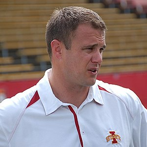 Tom Herman (American football) - Herman at Iowa State