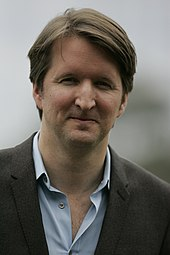 Photo of Tom Hooper at the premiere of Les Misérables in Sydney, Australia.