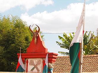 Andriamanelo - Tomb of Andriamanelo in Alasora