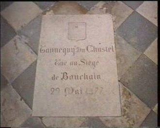 Tanneguy du Chastel - The tombstone of Tanneguy IV du Chastel (nephew)