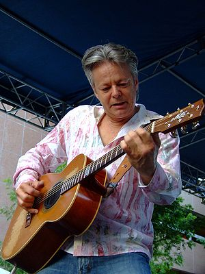 Tommy Emmanuel - Emmanuel's fingerstyle technique shown at a June 2006 performance at City Stages in Birmingham, Alabama