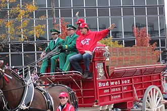 2011 World Series - La Russa during the World Series parade.