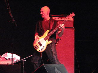 Music Man (company) - Tony Levin playing a Stingray 5