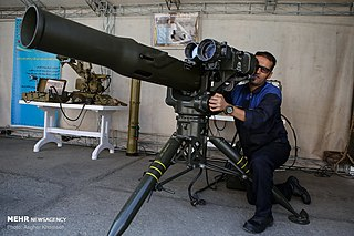 Toophan Anti-tank missile