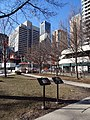 Toronto First Chinatown Plaques 1 and 2 - Nathan Phillips Square Toronto ON ON M5H 2N1, Canada.jpg