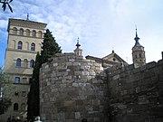 Torreón de la Zuda-Muralla